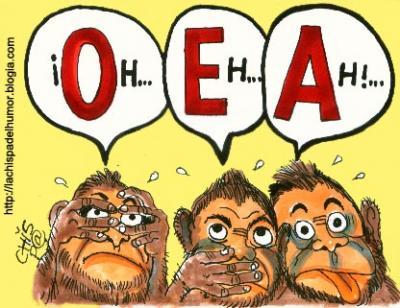 La OEA, vergonzoso ...