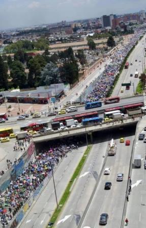 Colombia: Paro indef...