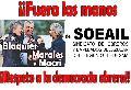 ¡¡Fuera las manos de Blaquier, Morales y Macri del SOEAIL!!