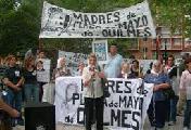 Intentaron frenar la ronda de las Madres de Quilmes