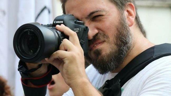 Fotógrafo y militant...