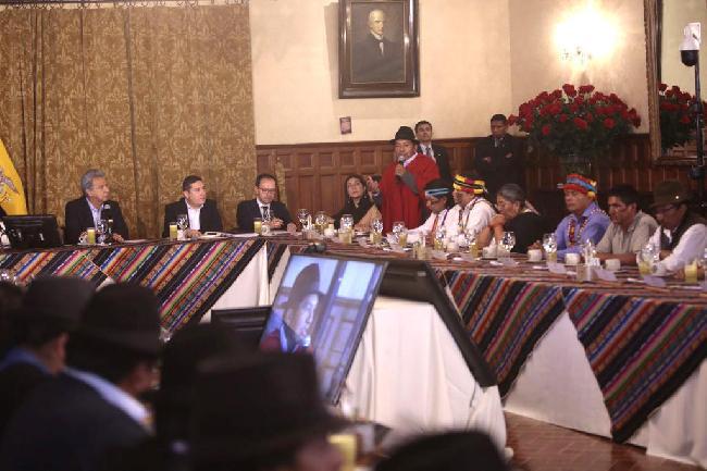 Ecuador: Presidente ...