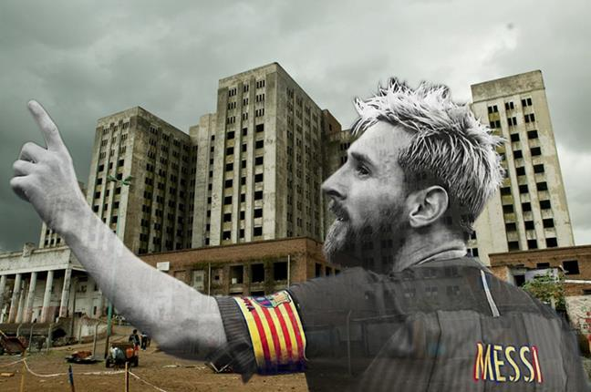 Messi y la gambeta q...