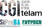 Paro por despidos en Telam
