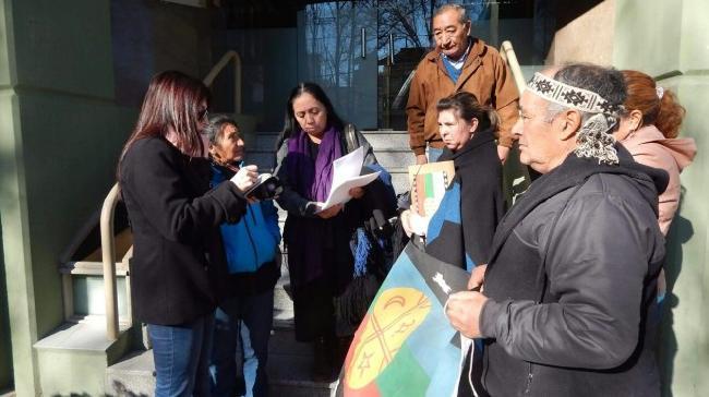 Mapuches denunciaron...