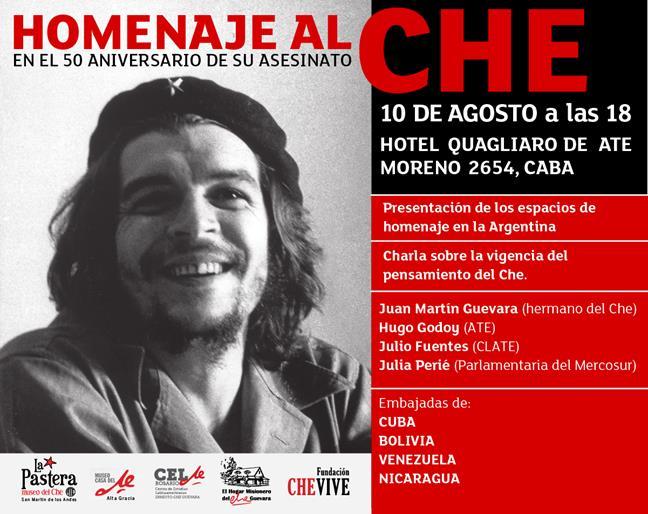 """Homenaje al """"Che"""" en..."""