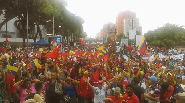 Venezolanos se movi...