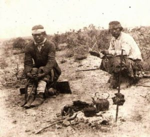 Mapuches, 1890....