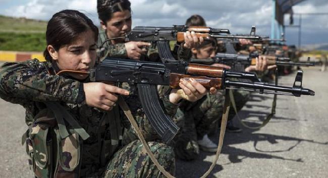 Batallón femenino Ku...