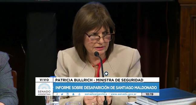 Patricia Bullrich: &...