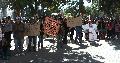 Comunidades aborígenes apoyaron a la familia de Volcán