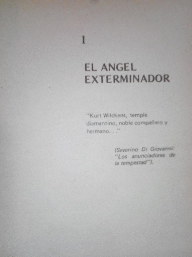 El angel exterminado...