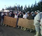 Continúa tomada la planta 2 de Cresta Roja: trabajadores se movilizan al juzgado