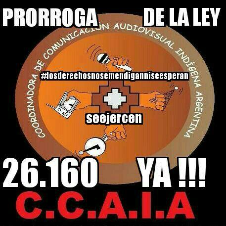 Comunicado de CCAIA:...