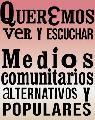 Manifestación de medios comunitarios por desinformación sobre conflicto mapuce