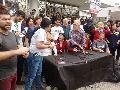 Conferencia de Prensa tras brutal #RepresiónPolicial a movilización a #UnMesSinSantiago