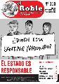 """Editorial El Roble N° 115 de Septiembre: """"Bullrich: ¿Dónde está Santiago?"""""""