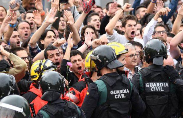 En Catalunya soplan...