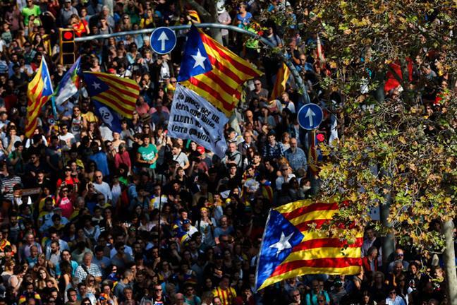 Cataluña se declaró ...