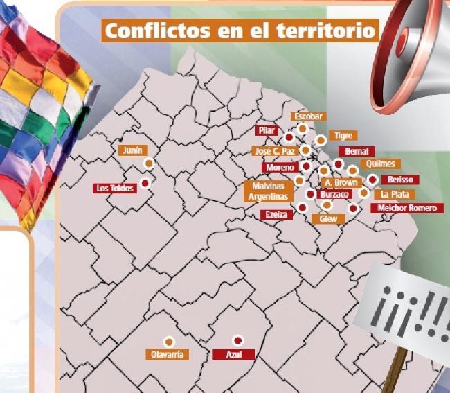 El mapa provincial d...