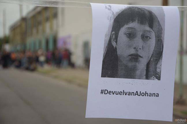 Buscamos a Johana...