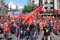 Movilización inauguró Jornada Continental por la Democracia y contra el Neoliberalismo