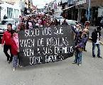En Ushuaia los docentes volvieron a ganar las calles