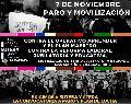 """7/11 Paro y Movilización contra el operativo """"Aprender"""" y el plan """"Maestro'"""