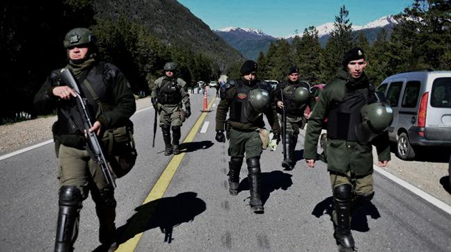 Mapuche fusilado en ...