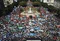 Movilización contra las reformas impulsadas por Cambiemos