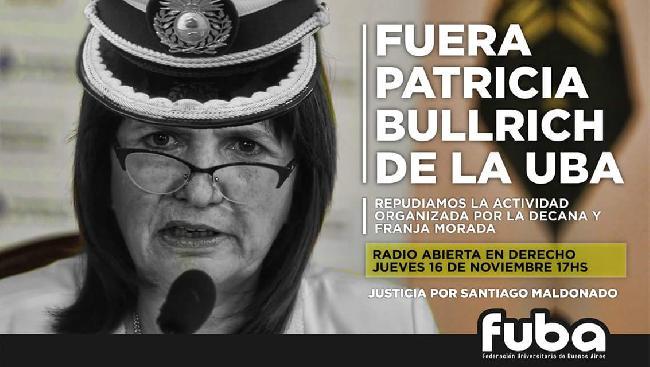 Fuera Patricia Bullr...