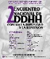 Segundo Encuentro Nacional contra la Impunidad y la Represión