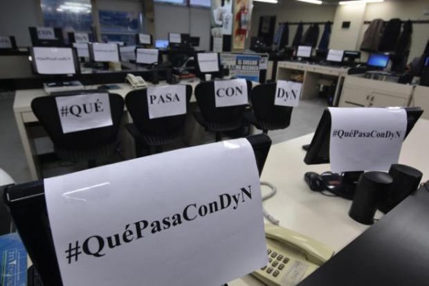 Agencia DyN: Trabaja...
