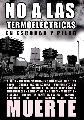 No a las termoelectricas