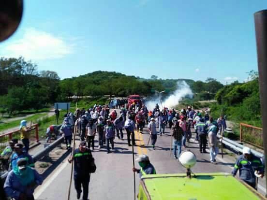 Jujuy: Represión al ...
