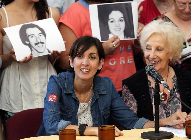 Adriana con Estela d...