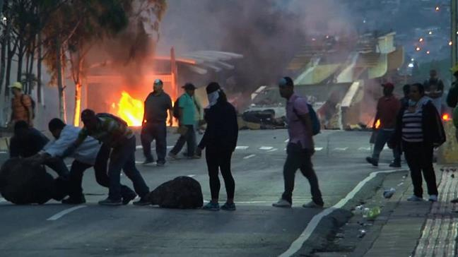 Honduras: manifestac...