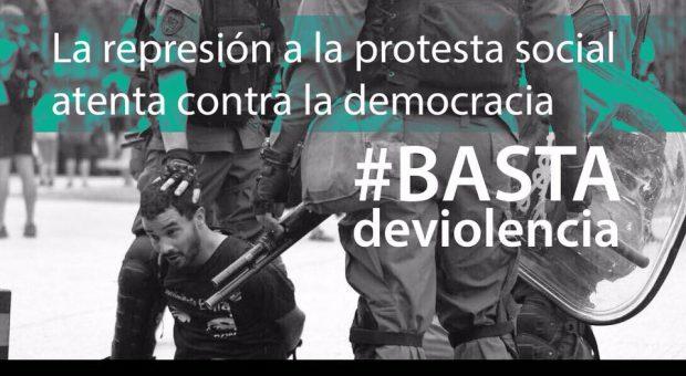 Basta de represión c...