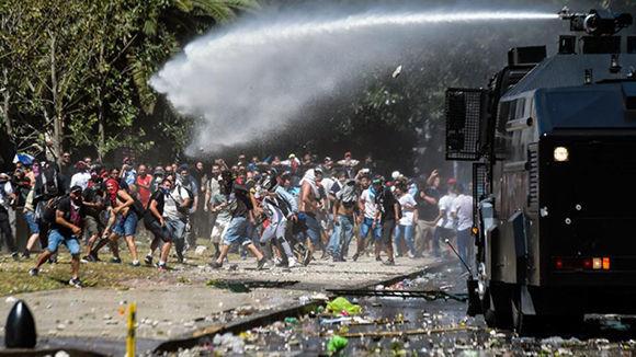 Contra la represión ...