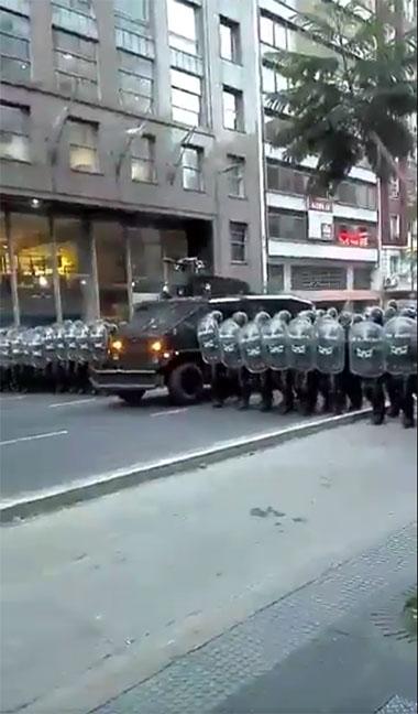 CABA militarizada. I...