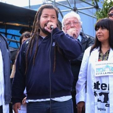 Solidaridad con Seba...