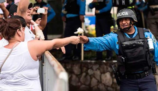 Honduras: la Policía...