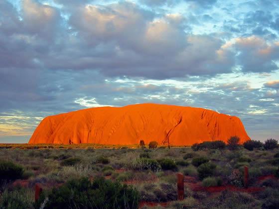 Uluru, el Ombligo de...