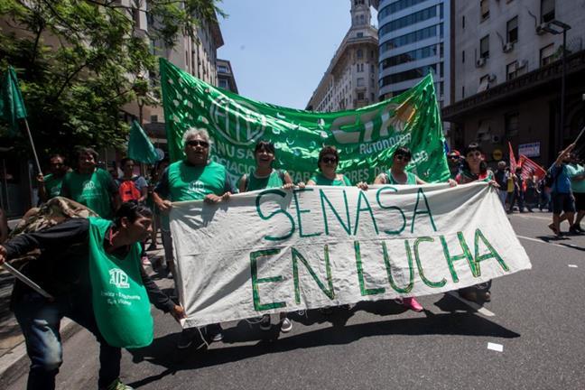 Paro Nacional de ATE...