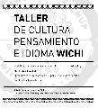 Taller de cultura, pensamiento e idioma wichí