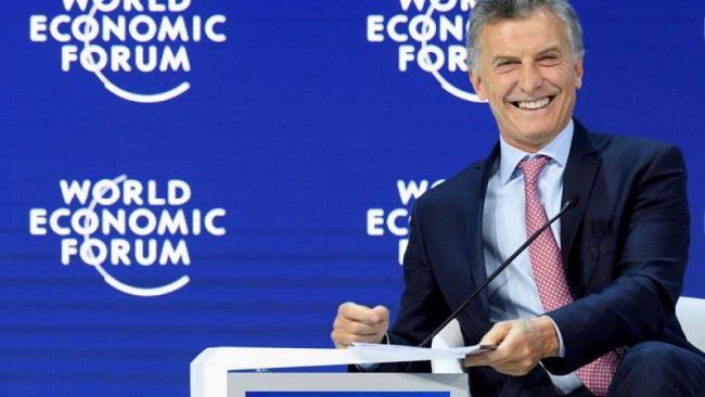 Macri en Davos: &quo...