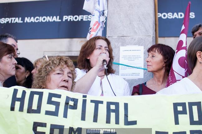 Hospital Posadas: la...