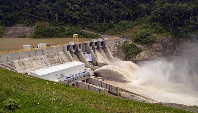 Las hidroeléctricas ...
