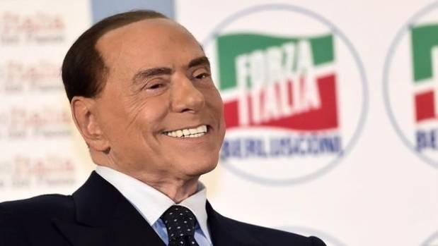 Silvio Berlusconi, e...