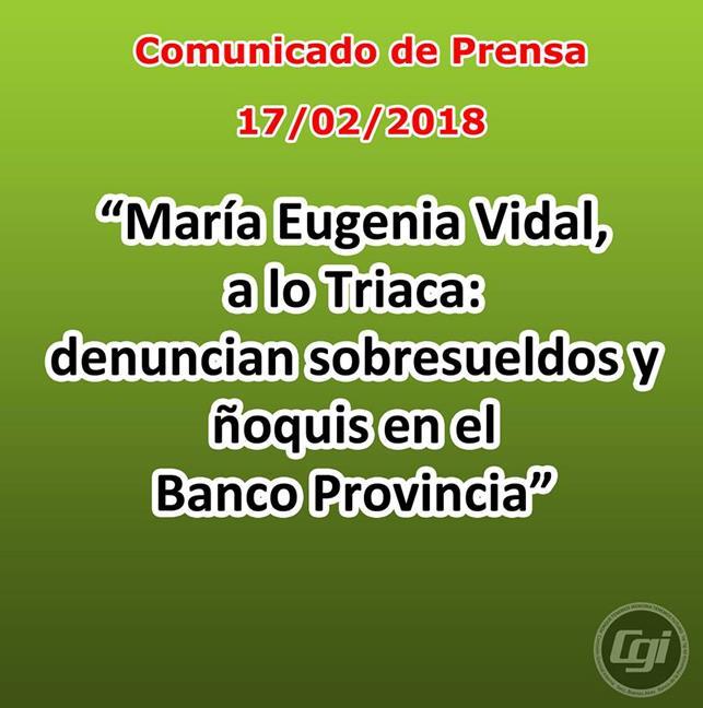 María Eugenia Vidal,...